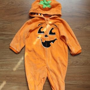 Other - Infant 6-9 m Pumpkin Costume Halloween Bodysuit